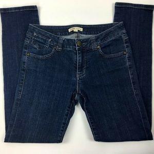 CAbi Jeans Size 2 Skinny Stretch Blue Cotton Denim